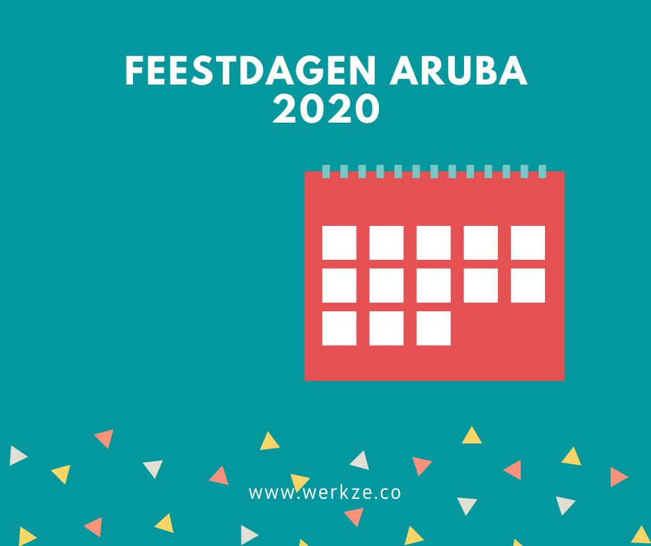 2020 Feestdagen op Aruba