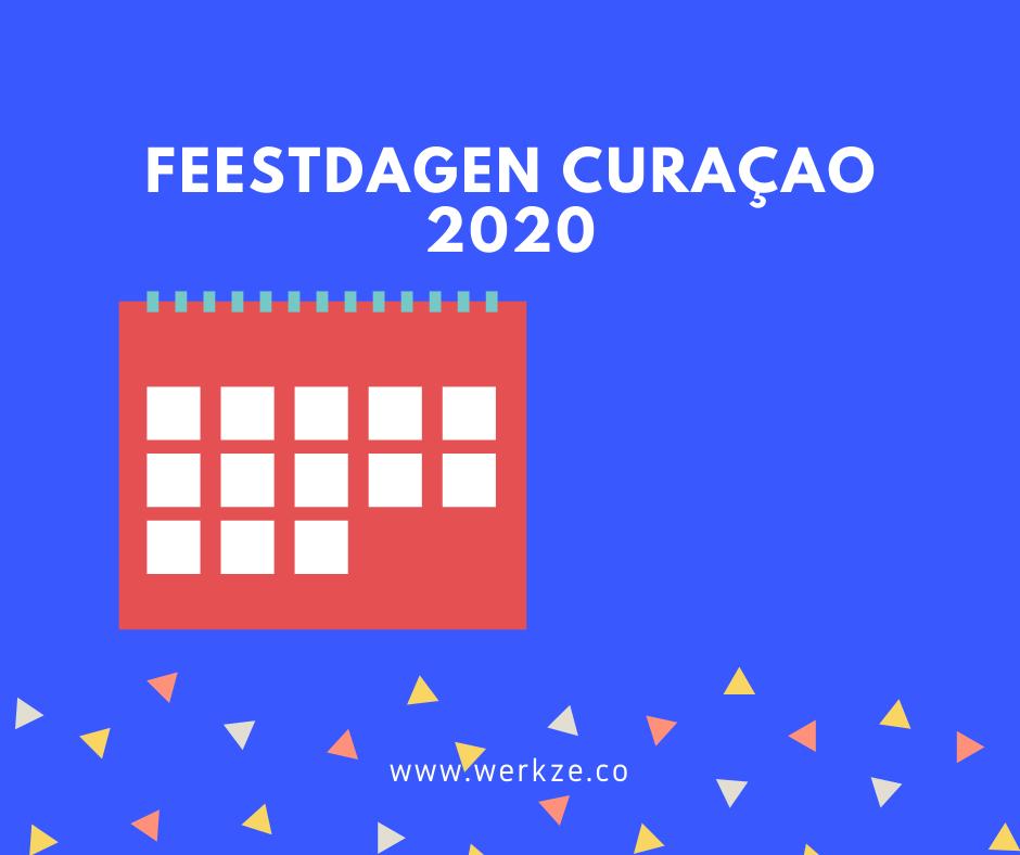 2020 Feestdagen op Curacao